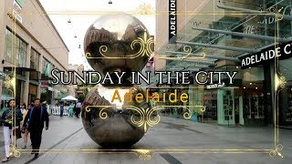 Adelaide Rundle Mall and Rundle St
