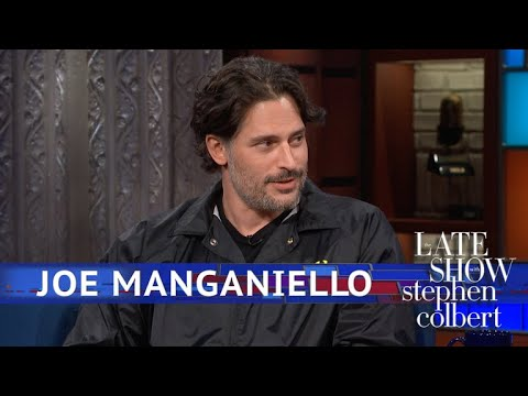 Joe Manganiello and Stephen Colbert talk about 'Dungeons & Dragons' for literally the entire 10 minute interview.