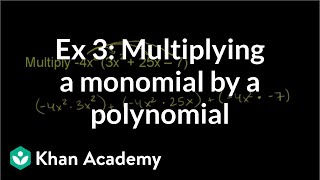 Multiplying Monomials by Polynomials