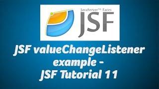 JSF valueChangeListener example - JSF Tutorial 11