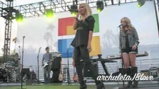 Hot Mess [Live @ Microsoft Opening in Scottsdale, Arizona] - Ashley Tisdale