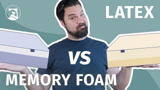 Memory Foam Vs. Latex Mattresses - Which Is The Absolute Best?