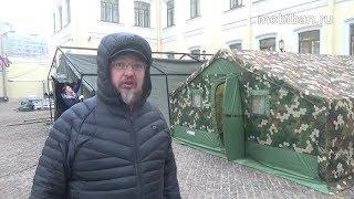 Почему палатка Роснар Р-75. Сборка Р-75