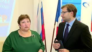 Председатель избиркома области Татьяна Лебедева сообщила последние результаты подсчета голосов