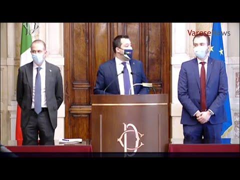 """Consultazioni, Salvini: """"La Lega è a disposizione"""""""