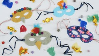 How To Create Splendid And Personalised Masquerade Masks - DIY By Søstrene Grene