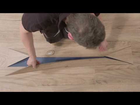 Forbo flooring systems allura click repair video