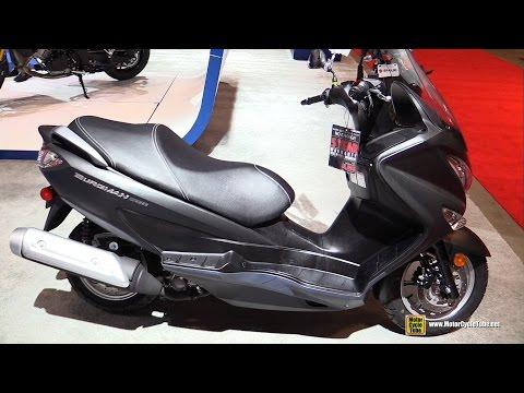 2016 Suzuki Burgman 200 - Walkaround - 2016