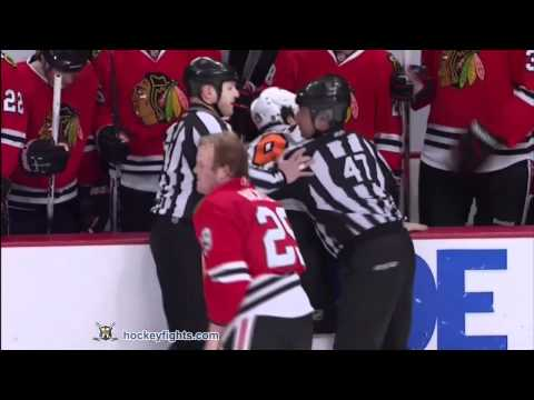 Bryan Bickell vs. Scott Hartnell