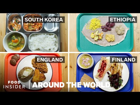 What Kids Eat for Lunch in 23 Countries Around the World