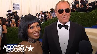 Kerry Washington On Her Michael Kors 2017 Met Gala Gown | Access Hollywood