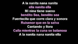 the cheetah girls a la nanita nana lyrics