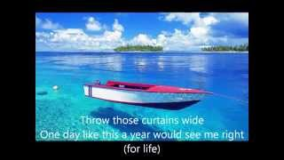 Elbow   One Day Like This  (Lyrics)