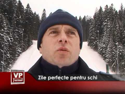 Zile perfecte pentru schi