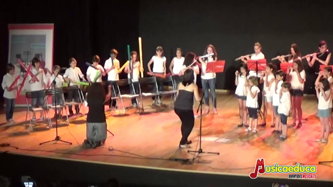 """Serendipity"" - Agrupación de flautas Escuela de Música  Musicaeduca Juventudes Musicales"