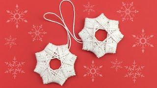 DIY Homemade Christmas Tree Star Ornaments / Christmas Decorations Ideas / Christmas Crafts