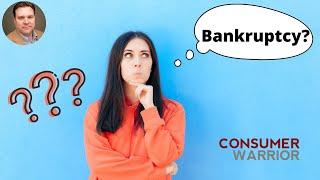 Should I File Bankruptcy or Pay Off Debt?
