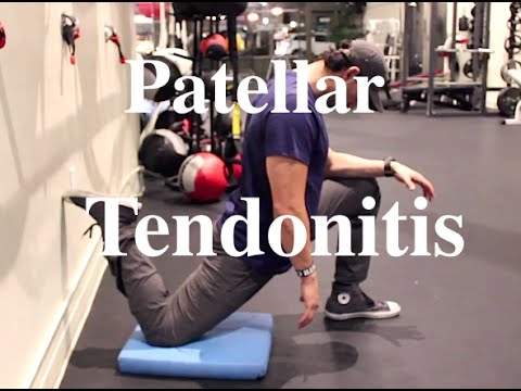 Video GUIDE to Patellar Tendonitis Correction (Jumper's Knee) Pt 1