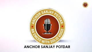 Anchor Sanjay Potdar hosting Sangeet Ceremony
