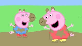 Peppa Pig English Episodes | Muddy Puddles! | 2 HOUR SPECIAL | #112