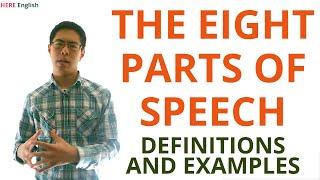Parts of Speech (Grammar Lesson) - Noun, Verb, Pronoun, Adjective, Adverb, Conjunction, and More
