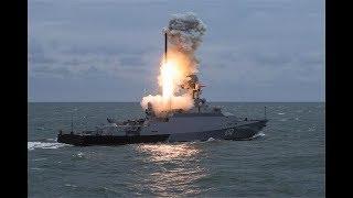 俄罗斯26枚导弹齐射 3小时后叙利亚境内11个地方传来巨响?