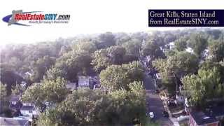 preview picture of video 'From Above: Great Kills, Staten Island'
