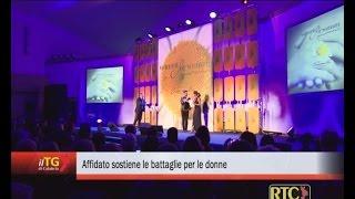 Michele Affidato sostiene le battaglie per le donne RTC TELECALABRIA