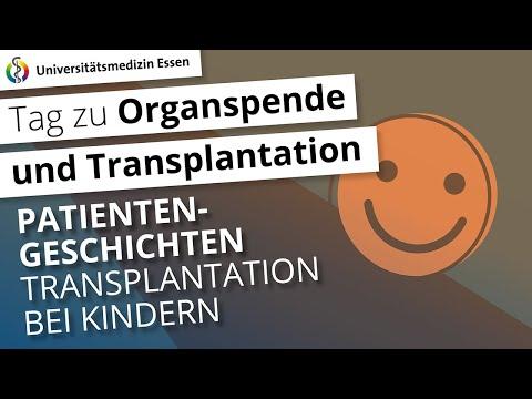 Patientengeschichte: Transplantation bei Kindern