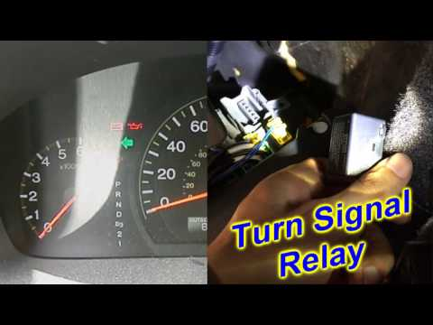 Honda Accord Turn Signals - Blinkers - Hazard Lights - problem & fix - turn signal relay
