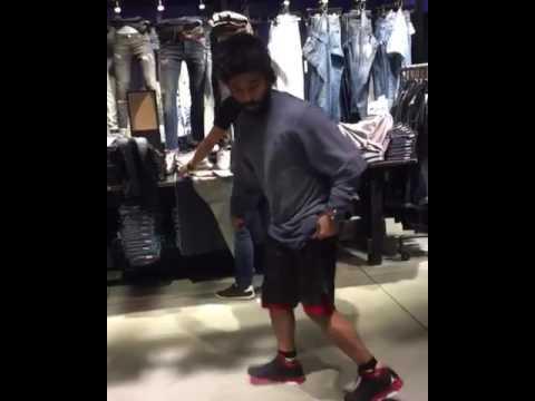 Neeraj madhav dance