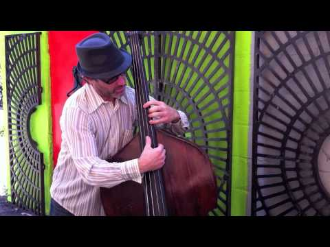 Sanford and Son theme on upright bass