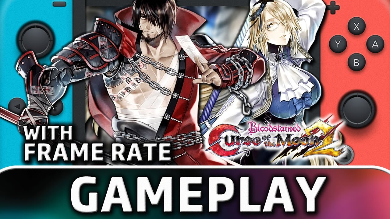Bloodstained: Curse of the Moon 2 | Nintendo Switch Gameplay and Frame Rate