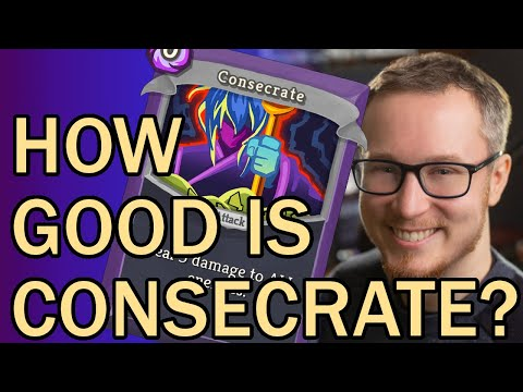 HOW GOOD IS CONSECRATE? | SpireChats #60 | Slay the Spire