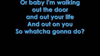 Martina McBride - Watcha Gonna Do lyrics