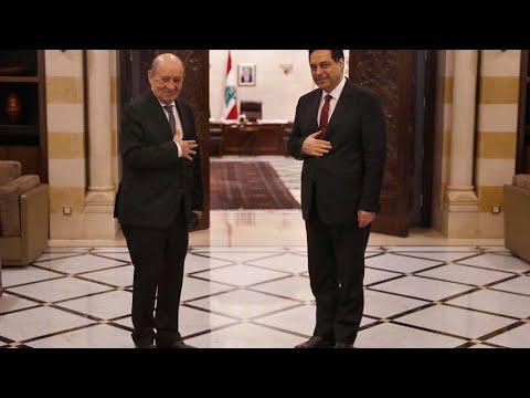 وزير خارجية فرنسا من بيروت