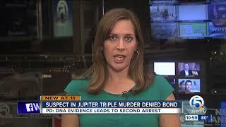 Jupiter Triple Homicide Suspect Denied Bond, Refuses To Appear In Court