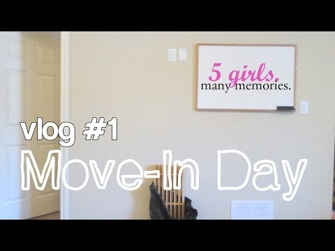 Move-In Day Vlog | #1