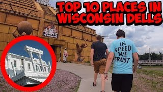 What to see in wisconsin dells