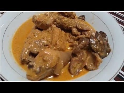 Resep Ayam Kampung Masak gulai  Bumbu Minang