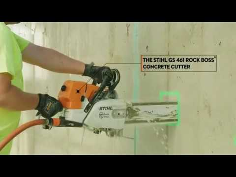 Stihl GS 461 ROCK BOSS® in Fairbanks, Alaska - Video 2
