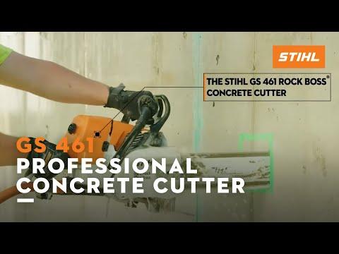 Stihl GS 461 Rock Boss in Tyler, Texas - Video 2