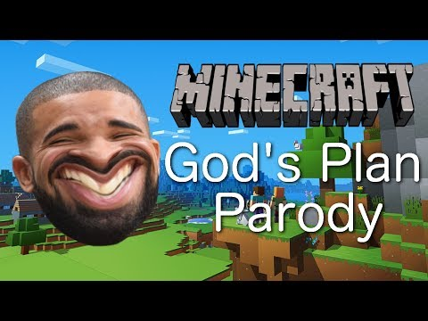 Drake - Gods Plan (MINECRAFT PARODY) mp3
