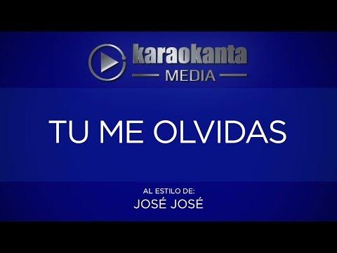 Karaokanta - José José - Te me olvidas