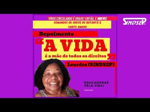 PODCAST: Educadoras Pela Vida com a participação da diretora dos Trabalhadores da Saúde do Sindsep, Lourdes Estevão