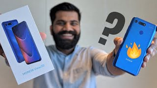 Honor View 20 Unboxing & First Look - 48MP Camera - Crazy Looks 🔥🔥🔥