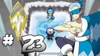 Let's Play Pokemon: Black - Part 23 - Icirrus Gym Leader Brycen