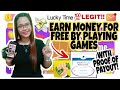 EARN MONEY FOR FREE BY PLAYING GAMES | WITH PROOF OF PAYOUT💸 |💯LEGIT PAYING GAMING APP📲📲