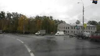 Круговое движение на улице Седова.