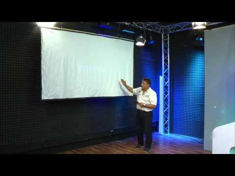 SceneLights LED-Beamer mit Mediaplayer LB-8001.mp mit USB und HDMI